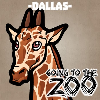 Going to the Zoo! -- Dallas -- 12 Wild Animals -- 100+ K-2 Resources