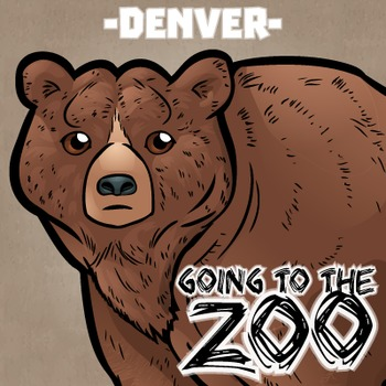 Going to the Zoo! -- Denver -- 12 Wild Animals -- 100+ K-2 Resources