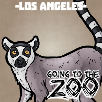 Going to the Zoo! -- Los Angeles -- 12 Wild Animals -- 100+ K-2 Resources
