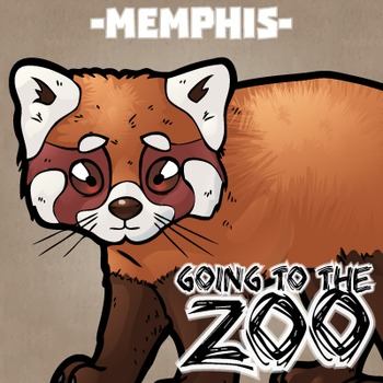 Going to the Zoo! -- Memphis -- 12 Wild Animals -- 100+ K-2 Resources