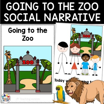 Going to the Zoo Social Story