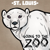 Going to the Zoo! -- St. Louis -- 12 Wild Animals -- 100+ K-2 Resources