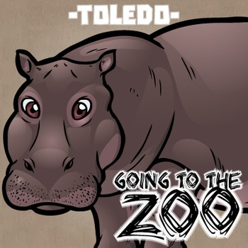 Going to the Zoo! -- Toledo -- 12 Wild Animals -- 100+ K-2
