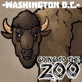Going to the Zoo! -- Washington D.C. -- 12 Wild Animals -- 100+ K-2 Resources