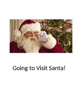 Going to visit Santa Claus