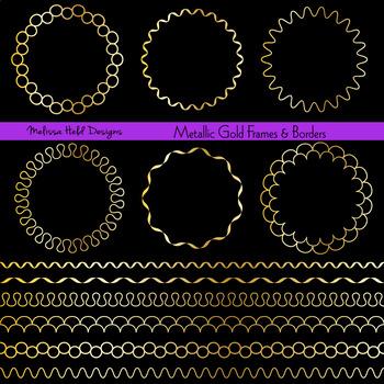 5b44d986f726 Gold Circle Frames and Borders Gold Circle Frames and Borders