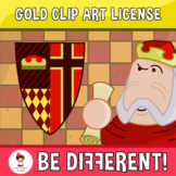 Gold Clip Art License (PartyHead Graphics)