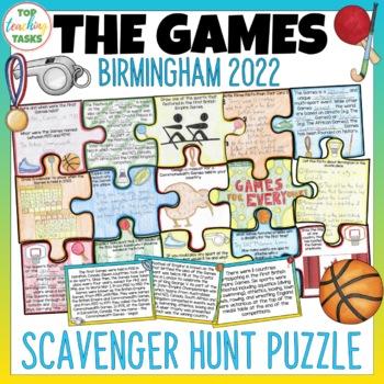 Gold Coast Games Scavenger Hunt Puzzle Activity
