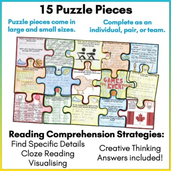 Commonwealth Games 2018 Scavenger Hunt Puzzle Activity