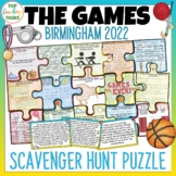 Commonwealth Games Scavenger Hunt Puzzle Activity - FREE UPDATES