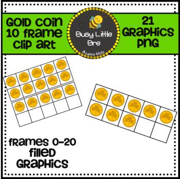 Gold Coin 10 Frames