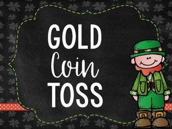Gold Coin Toss - A Saint Patrick's Day Math Game