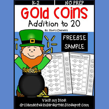 Gold Coins Addition to 20 FREEBIE SAMPLE