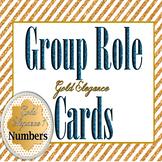 Gold Elegance 1 -- Gorgeous Table/Desk/Calendar Numbers 1-