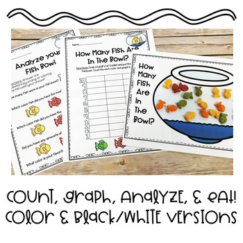 Fish Count and Graph Activity | Special Education and Autism Resource