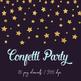 Gold Foil Confetti Clipart