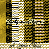 Gold Foil Papers and Backgrounds
