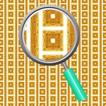 Gold Glitter Backgrounds / Digital Papers / Patterns Clip Art Set