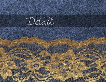 Gold Lace Blue Velvet Digital Paper Textures Scrapbooking Backgrounds