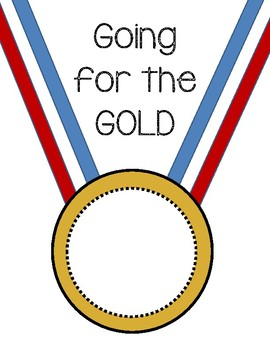 Gold Medal~Going for the GOLD! Olympic Theme