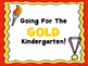 Gold Medal Welcome Signs FREE