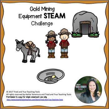 Gold Mining Equipment STEAM Challenge