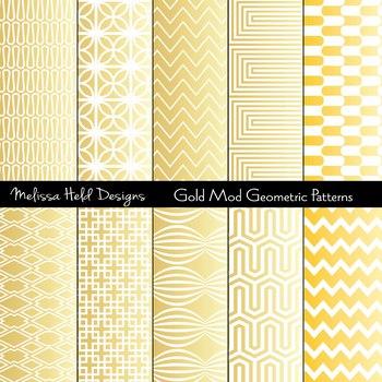Gold Mod Geometric Patterns