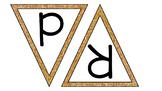 EDITABLE Gold P.R.A.I.S.E. pennant banner