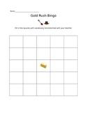 Gold Ruch Bingo