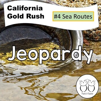 Gold Rush 4 Jeopardy Sea Routes