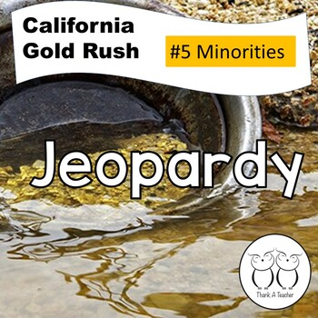 Gold Rush 6 Jeopardy Minorities
