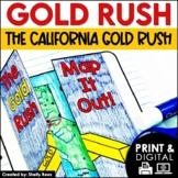 Gold Rush Activities   California Gold Rush   DIGITAL and PRINTABLE