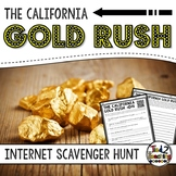 Gold Rush Activity: Internet Scavenger Hunt