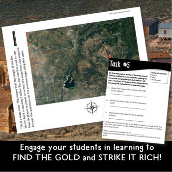 Gold Rush: Classroom Escape Room for Grades 2-5