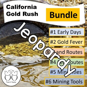 Gold Rush Jeopardy 6 Game Bundle