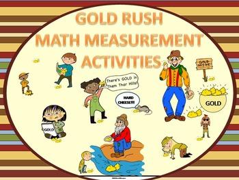 "Gold Rush ""Word Problems"" (Measurement Activities)"