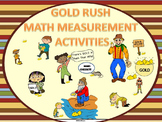 "Gold Rush ""Word Problems"" (Measurement Activities)"