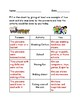 Gold Rush Now/Then Worksheet