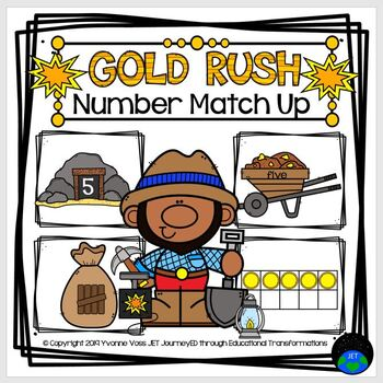 Gold Rush Number Match Up