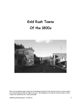 Gold Rush Project