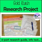 Gold Rush Research Project. Colonial Australia.
