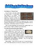 Gold Rush Review Game- Top Seller