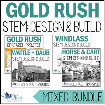 Gold Rush STEM BUNDLE. Colonial Australia.
