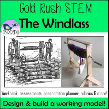 Gold Rush STEM. The Windlass. Colonial Australia.