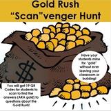 """Gold Rush """"Scan""""venger Hunt - Using QR Codes"""