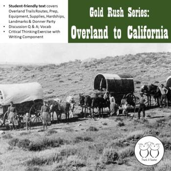 Gold Rush Series #3- Overland to California
