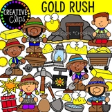 Gold Rush Western Clipart {Cowboy Clipart}