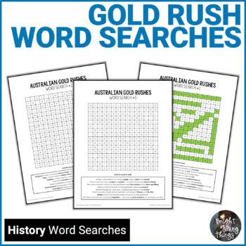 Gold Rush Word Searches - ACHASSK108