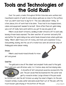 Gold Rushes of British Columbia: Fraser River and Cariboo
