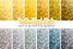 Gold & Silver Bokeh digital paper, Metallic Yellow, Grey Bokeh Overlay